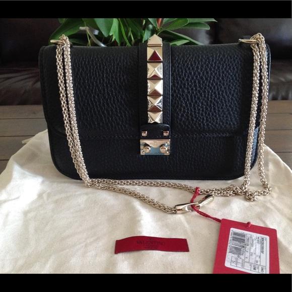 fb38216e91 Valentino Garavani Bags   Valentino Medium Rockstuds Glam Lock Bag ...